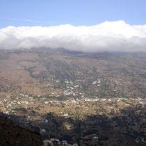 Andros: Blick vom Kloster Panachrantou