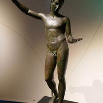 Statue eines Athleten