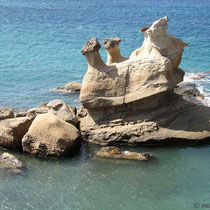 Felsen bei Mavrospilia