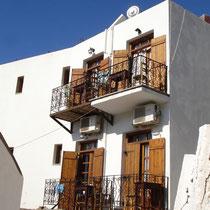 Kreta: Nebengebäide des Hotels Stavris in Chora Sfakion