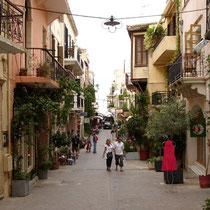 Kreta: Odos Theotokopoulou in Chania