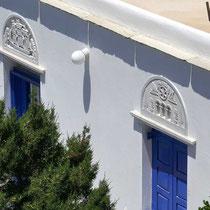 Marmorne Oberlichter von Tinos