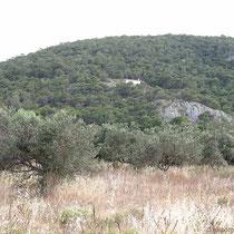Die Kapelle Agii THeodori oberhalb