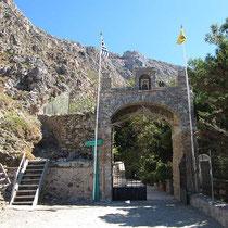Äußeres Tor des Klosters