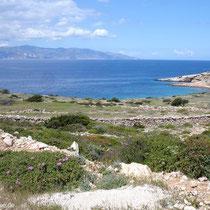 Blick nach Naxos