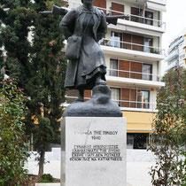Denkmal für die Frauen aus dem Pindos-Gebirge 1940