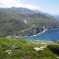 Die Küste entlang