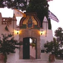 Eingang zum Kloster Panagia Theotokou