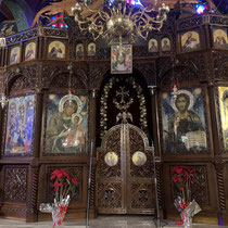 Ikonostase der Kirche der Panagia Gorgoepikoos