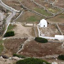 Agios Sofia und die Ausgrabung Agia Anastasia