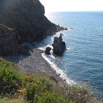 Der Strand von Malfa