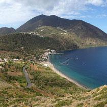 Blick vom Capo Graziano,,,