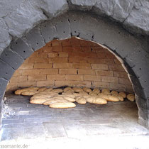 Karpathos: Paximadia im Ofen