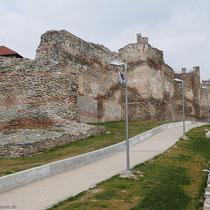 Byzantinische Stadtmauer, Ostseite