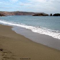 Uns gehört der Strand aber alleine