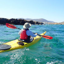 Die Felseninsel Agios Artemios