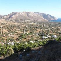 Die Ebene von Kambos und Megalo Chorio