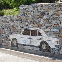Wandschmuck für Taxifahrer