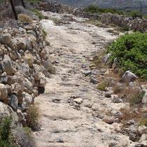 Kasos: Der alte Weg nach Poli