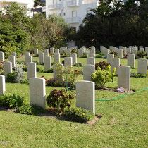 Leros: Soldatenfriedhof in Alinda