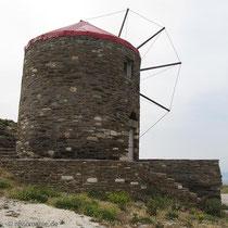 Die Mühle auf der Passhöhe