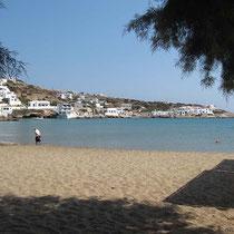 Der Strand in Alopronia