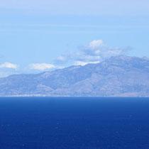 Der Berg Ochi auf Evia