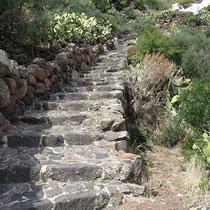 Prachtvolle äolische Stufen