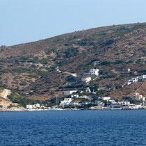 Agios Georgios in Sicht