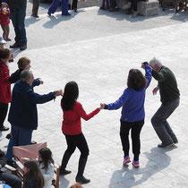 Erste Tanzrunde