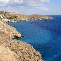 Kreta: Küste bei Chora Sfakion