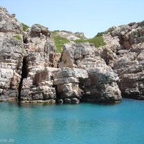 Saria: Einfahrt in die Bucht von Palatia