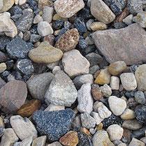 Steine aller Art