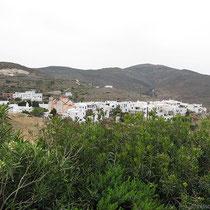 Blick auf Pyrgos