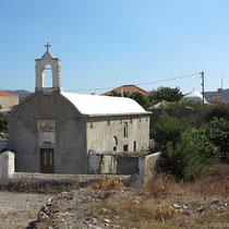 Kapelle unverputzt