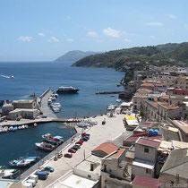 Blick auf die Marina Corta
