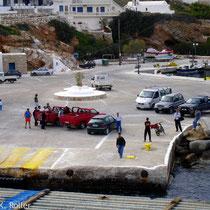 Sikinos: Hafen Alopronia