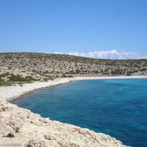 Gavdos: Aliki-Strand - so südlich