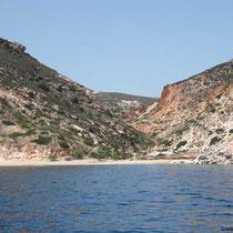 Tal an der Ostküste von Milos