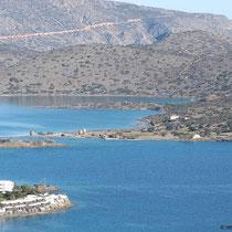 Spinalonga und die gelichnamige Bucht