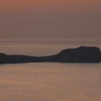 ... sondern hinter der heute unsichtbaren Peloponnes