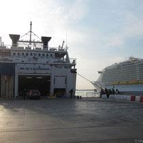 """Die """"Laurana"""" und schon wieder ein Monsterkreuzfahrtschiff"""