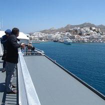 Naxos in Sicht