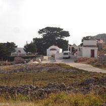 Chalki: Kloster Agios Ioannis (das Entfernte)