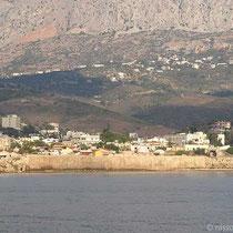 Chios-Stadt: Blick auf das Kastro