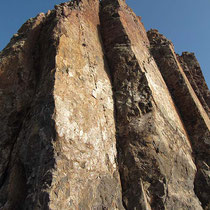 Steiler Felsenturm