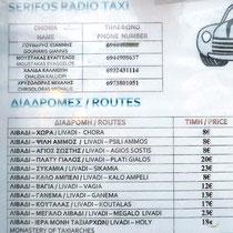 Taxipreise