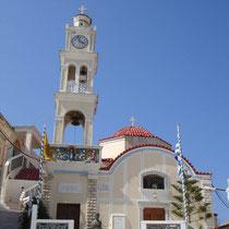 Karpathos: Die Panagia-Kirche von Olymbos