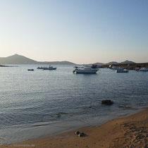 Am Strand von Agii Anagiri