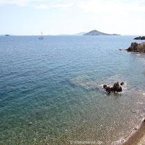 Am Strand von Sapsila
